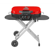 Colemanandreg Roadtrip 285 Portable Stand-up Propane Grill Red