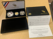 2016 3 Coin Set 100th Anniversary National Park Service New W 5 Gold Unc 16cg