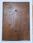 Antique Wheeler Wilson Treadle Sewing Machine Cabinet Top Lid Good Condition