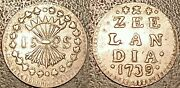 Pays-bas- Zealand - 1 Stuiver Silver 1739 Extremely Fine Km 28