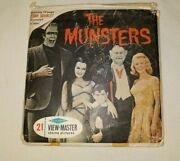 Vintage The Munsters View Master Reels 3 In Jacket Rare 149.99