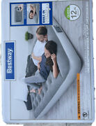 Queen Full Twin Air Bed Mattress Inflatable Built In Ac Pump Sleeping Camping