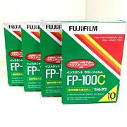 🔹new Expired Box 2013/07🔹fujifilm Fp-100c 4packs Instant Color Film From Japan