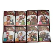 Lot Of 8 Best Of The Muppet Show Dvd Time Life 25th Anniversary All Complete