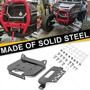 Fit Polaris Rzr 900 And General 1000 Eps And Xp Turbo Winch Mount Plate Bracket Kit