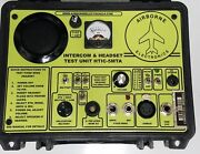 Airborne Electronics Headset And Intercom Tester Aviation Test Unit Aircraft New