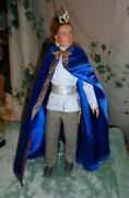 Newtonner Rare 17 Vinyl Doll Charming Royal Outfit Only-excellent