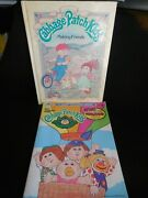Cabbage Patch Kids Coloring Book 1987 And Cabbage Patch Kids Making Friends Book