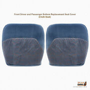 1994 1995 996 1997 Ford F450 Xlt Left-right Bottoms Replacement Cover Blue Cloth