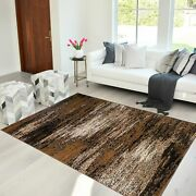 Area Rug Abstract Contemporary Modern Design Mixed Brush Home Rugs 8x10