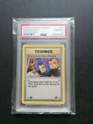 Psa 10 - Here Comes Team Rocket - 1st Edition - 71/82 Pokemon 2000 Card