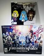 Fire Emblem Fates Special Edition W Preorder Keychains Nintendo 3ds New Sealed