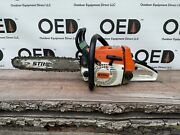 Stihl 026 Chainsaw - Strong Running 49cc Unit W/ 16 Bar And Chain - Ships Fast