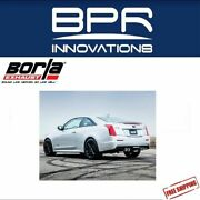 Borla Cat-back Exhaust S-type For 2016-2018 Ats-v 3.6l Twin Turbo - 140692