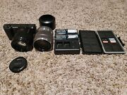 Sony A5100 Compact Slr Camera With 1.8-50mm Lens And 3.5-5.6/18-55 Lens Bundle