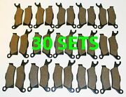 30 Sets 2013 Can-am Outlander 800r Xt-p Front And Rear Brakes Brake Pads