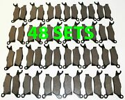 48 Sets 2012 2013 Can-am Renegade 800r Xxc/800r Front And Rear Brakes Brake Pads