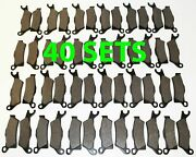 40 Sets 2012 2013 Can-am Renegade 800 / 800r Front And Rear Brakes Brake Pads
