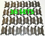 36 Sets 2012 2013 Can-am Renegade 1000 Xxc Front And Rear Brakes Brake Pads