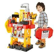 Toychoiandrsquos Pretend Play Series Transformable Workbench Toy Tool Play Set Large