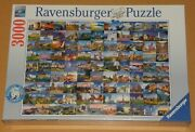 Puzzle 3000 Teile 99 Beautiful Places Of Europe Ravensburger 17080 Foto-collage