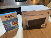 Sharper Image Photo Printer And Picture Keeper 8gb Usb Drive