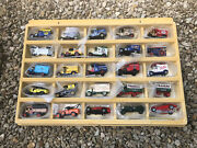 Matchbox Original Display Case Models Of Yesteryear Mint Condition With 25 Cars