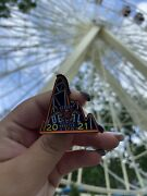 2021 First Day New Jersey Devils Rollercoaster Collectible Six Flags Pin.