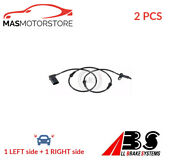 Abs Wheel Speed Sensor Pair Front Abs 31404 2pcs P New Oe Replacement