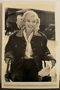 Marilyn Monroe An Appreciation By Eve Arnold Poster Original Signed 14 X 21.5