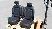 2014 Mini Cooper S R61 Paceman Rear Seats Second Row Set Leather Black Oem