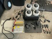 Complete Poe Security Camera System With 1tb Nvr 4 Outdoor Dome Cameras Cables