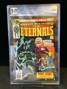 The Eternals 1 July 1976 Graded 9.0 White Pages First Appearance Ikaris Kro