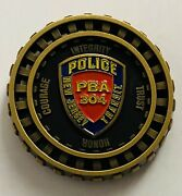 Sought After-unique-new Jersey Transit Police -police Challenge Coin