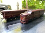 Ho Scale Alco Pennsylvania Diesels Pa-1 And Pb-1, Powered And Dummy Athearn Blue Box