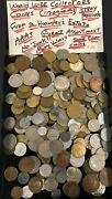 Worldwide Collection Of Coins From An Old Hoarder--weight Over 3 Troy Pounds--a+