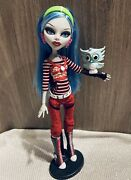 Monster High Ghoulia Yelps First Wave Doll And Pet Owl Hoot Mattel