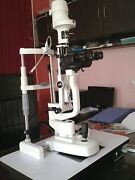 2 Step Slit Lamp Haag Streit Type And Accessories Ophthalmology Slit Lamp