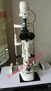 Slit Lamp 2 Step Haag Streit Type With Accessories Optometry Free Shiipping