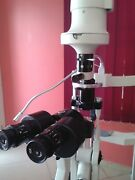 2 Step Slit Lamp Haag Streit Type With Accessories Indias Best Brand Dr Harry