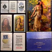 C1919 Historic Antique Playing Cards C606 Native American Indian 1 Sealed 1 Mint