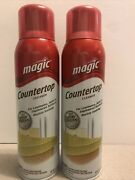 Lot Of 2 Magic Countertop Cleaner 17oz Cans Hard To Find And Discontinued Old Logo
