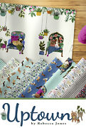 Uptown Dogs Jelly Roll 42 Strips 2.50 Wide 44 Inch Long Quilting Fabric Dog