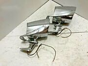 Nuvue Mirrors Spot Lights 1950-1960and039s Hot Rat Rod Lowrider Pair