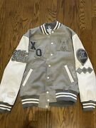 Roots The Weeknd X Daniel Arsham Official Xo Varsity Jacket House Of Balloons L