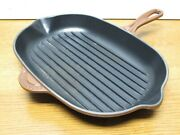 Le Creuset 32 Oval Grill Pan Brown