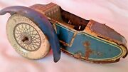 Motorcycle Tin Tippco Sidecar T - 689 Only Parts Motorrad