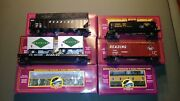 Mth Premier 20-90001 Reading 6 Car Freight Set W/caboose L/n Box 0 Scale
