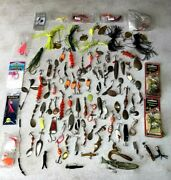 Vintage Fishing Lure Lot Of 85 Good Conditions W/ Treble Hooks