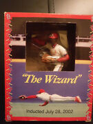 Ozzie Smith Hartland Statue The Wizard Hof Induction Edition By Mcdonalds Nip